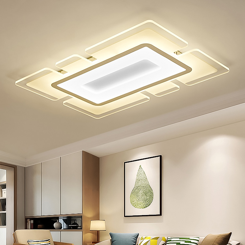 Modern Ceiling Lights With Remote Control LED Lamp For Living Room Bedroom Study Room  Ceiling Lamp Deco 110-220V