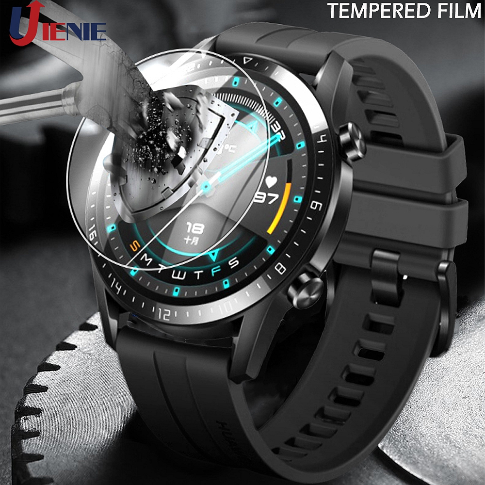 For Huawei GT GT2 46mm Tempered Glass Film Guard For Huawei Watch Gt 2 46mm Smart Watch Screen Protector Protective Glass Films