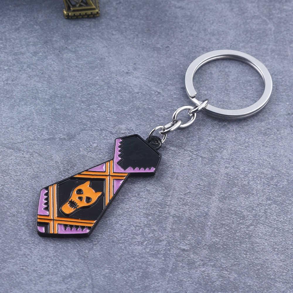 ANIME JOJO/'S BIZARRE ADVENTURE Acrylique Keychain Porte-clés Course Bretelles Cosplay