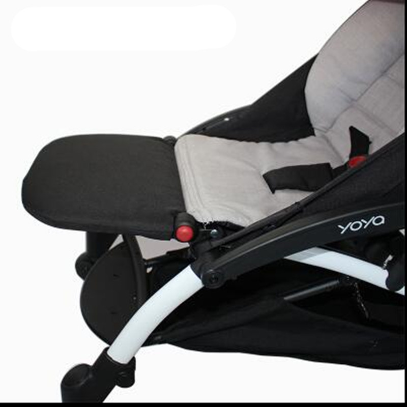 Image 2 - Baby Stroller Foot Rest Extension Feet Sleep Extend Buggy Board Footrest for Babyzen Yoyo Trolley Pushchair Yoya Accessories-in Strollers Accessories from Mother & Kids