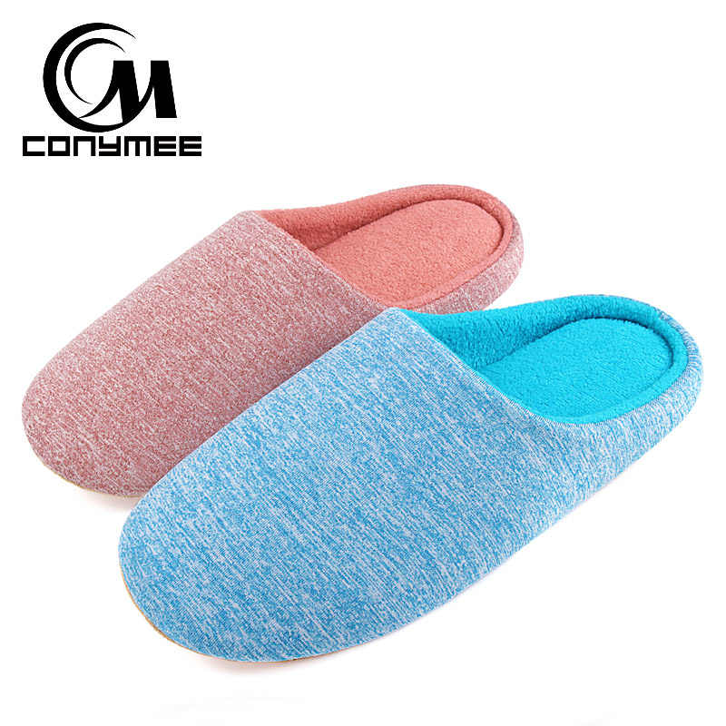 Women Fur Slippers Winter Casual Flats Shoes Big Size Indoor Home Slippers Footwear Soft Plush Female Warm Bedroom Slippers Shoe