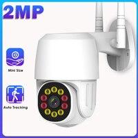 WiFi IP kamera açık 1080P HD güvenlik kamerası otomatik izleme ev güvenlik kamerası Mini Onvif gözetim kamera IP66 su geçirmez