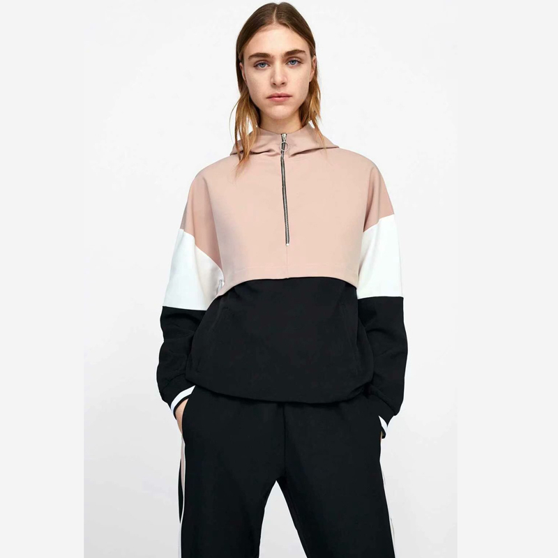 Pink Outfit Tracksuit Sportswear For Women Hoodies Two Piece Set Top And Pant Suit Co-ord Sweat Casual Female Clothes 2019