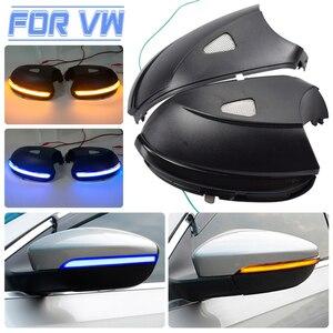 Image 1 - For Volkswagen VW Beetle A5 2011 2015 Car LED Dynamic Turn Signal Light Side Mirror Indicator Blinker Lamp