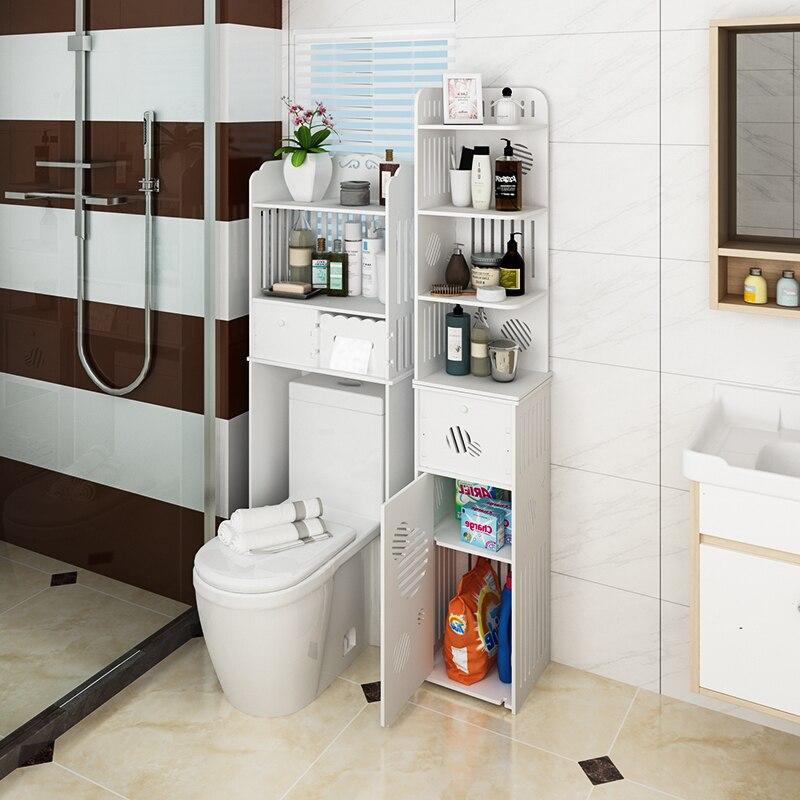 Salle de bain acheter contenu à porter sans perforation mur à suspendre palier lave linge toilette est étanche côté arche toilette retraité