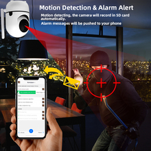 Wifi-Camera Tracking Baby-Monitor Surveillance Security Indoor Wireless 1080p Mini Home