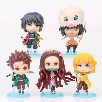 Demon Slayer Peripherals Figure PVC Action Anime Collection Car desktop toys Doll Model Toy Japan anime for chilsren gifts doub k 1 pcs 22cm sexy girl figurine action figure toy pvc creative gifts female doll anime kawaii model funny toys collection