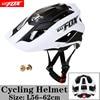 BATFOX Homens Capacete Da Bicicleta Capacete de Mountain Bike XC TRAIL MTB Ultraleve Capacete Estrada Integ-Moldado cruz Ciclo Ciclismo BMX capacete 25