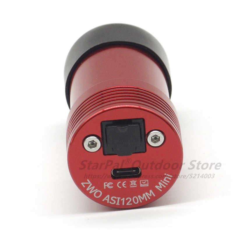Миниатюрная монохромная астрономическая камера ZWO asi120 мм ASI Планетарная Солнечная Лунная видеосъемка/USB2.0 ASI 120 мм