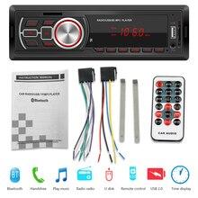 5209E Single 1 DIN Car Radio Bluetooth AUX-in TF Card U Disk Auto Stereo Multimedia Audio MP3 Player Head Unit