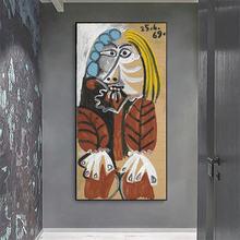 Pablo picaso известные художественные Картины Печать на холсте