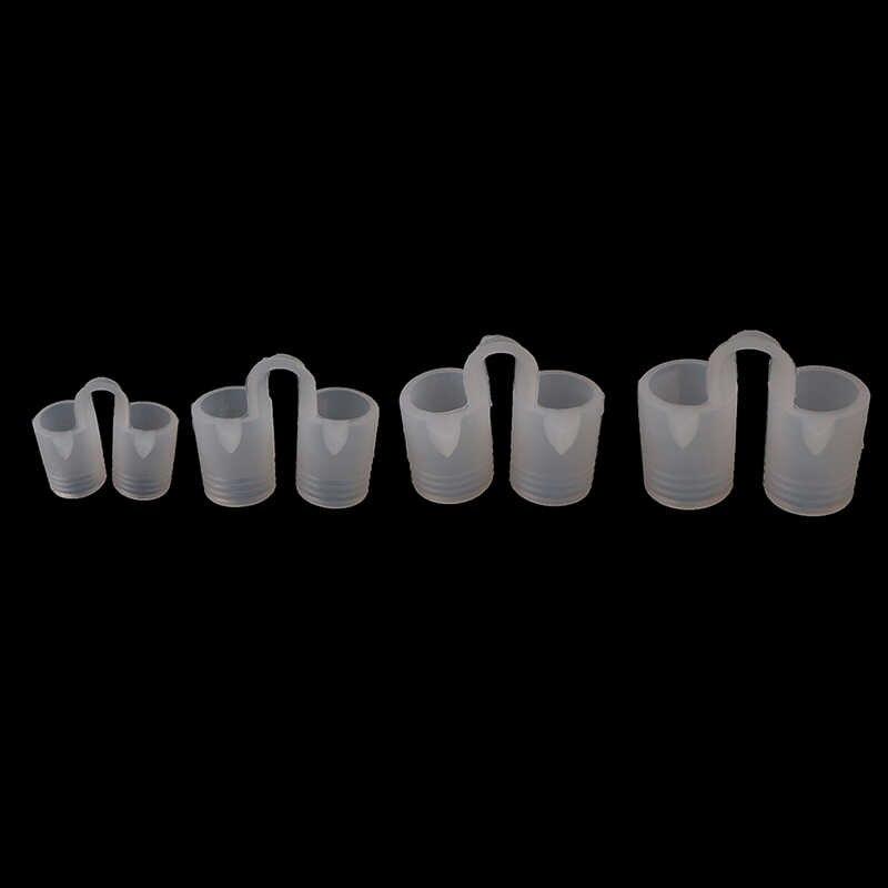 1PC Silicone Anti ronflement nez évents pince soulager bouchon Anti ronflement garde dilatateur Nasal facile sommeil aide respiratoire 4 tailles