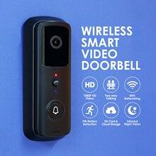 V30 WiFi kapı zili kamera w/ 32G TF kart 1080P Video kapı zili hareket dedektörü akıllı kablosuz kapı zili ile kamera gece görüş