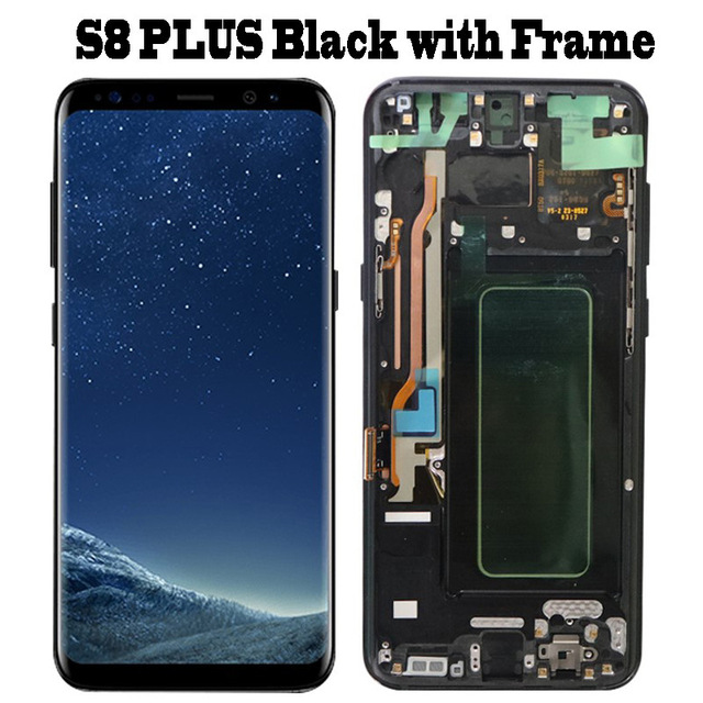 S8 Plus Black Frame