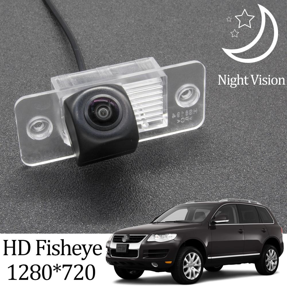 Owtosin HD 1280*720 рыбий глаз камера заднего вида для VW Volkswagen Touareg 2002 2003 2004 2005 2006 2007 2008 2009 автомобильный монитор