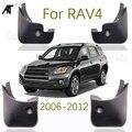 Брызговики для Toyota RAV4 No Flare 2006-2012 набор брызговиков Брызговики крыло брызговиков 2007-2011
