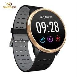 BINSSAW SN67 inteligentny zegarek IP68 wodoodporny Push wiadomość tętno tracker do monitorowania aktywności fizycznej sport smartwatch dla mężczyzn kobiet