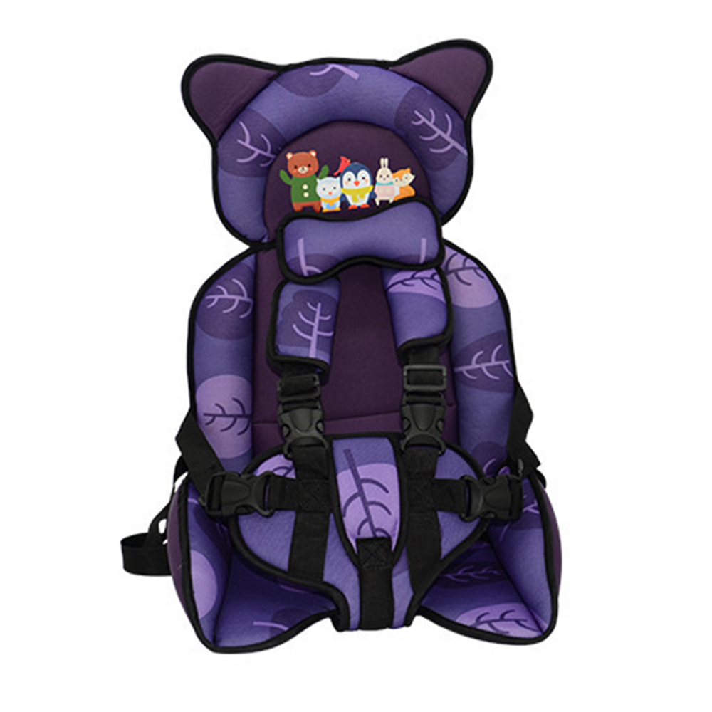 Child Seat Baby Seat Portable Protect Children Sitting Chair  Adjustable Kids Seats Collapsible Armchair Baby Chair 6 Years Old