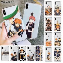 Maiyaca haikyuu hinata ataques anime fundas capa do telefone para o iphone 11 pro xs max 8 7 6s plus x 5 5S se xr capa