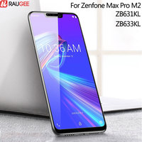 Screen Protector For Asus Zenfone Max Pro M2 ZB631KL Tempered Glass 9H Full Cover Glass For ZB631KL ZB633KL Tempered Glass Guard