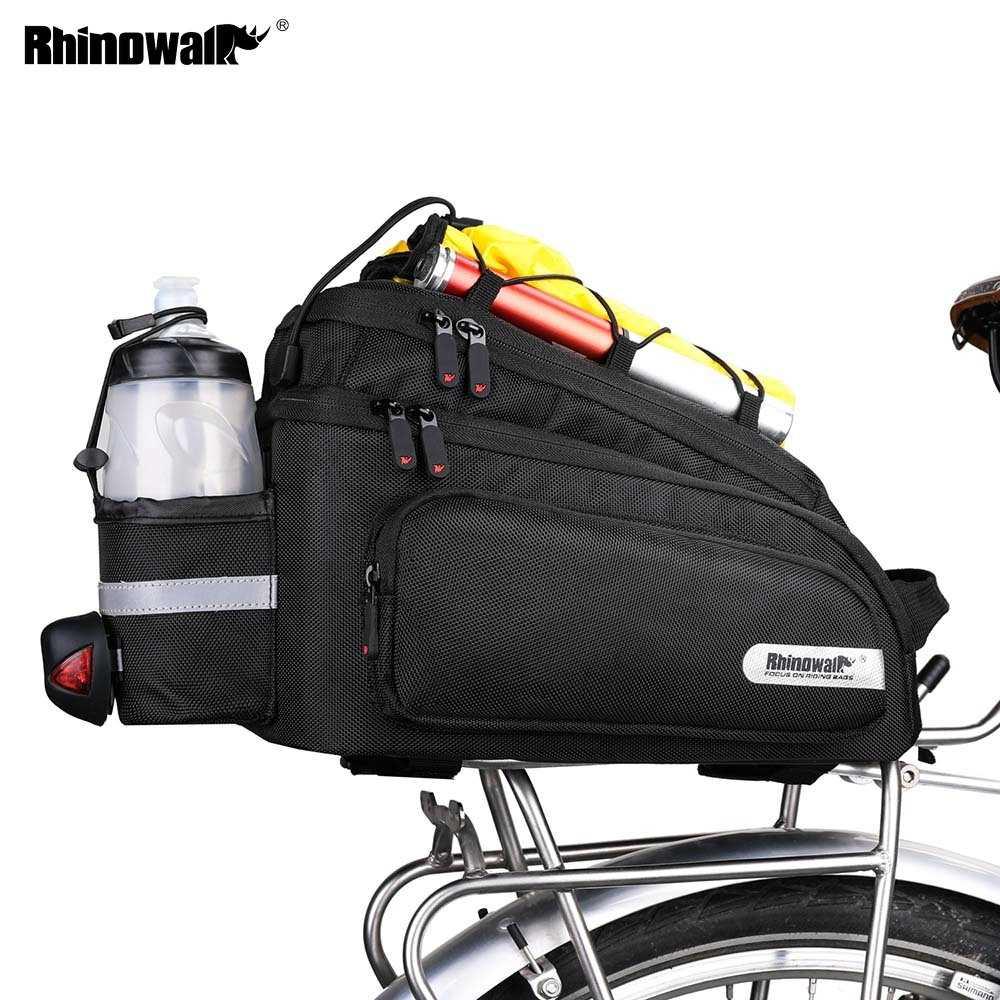 Bicycle e-Bike Cycling Rear Luggage Rack Bag Tail Seat Shelves Trunk Storage Bag