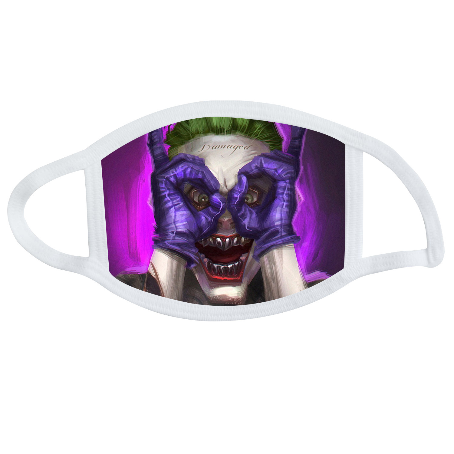 Joker Peripheral DC Clown Masks Anti-Car Exhaust Hanging Ear Masks Dust Cloth Fabric Masks