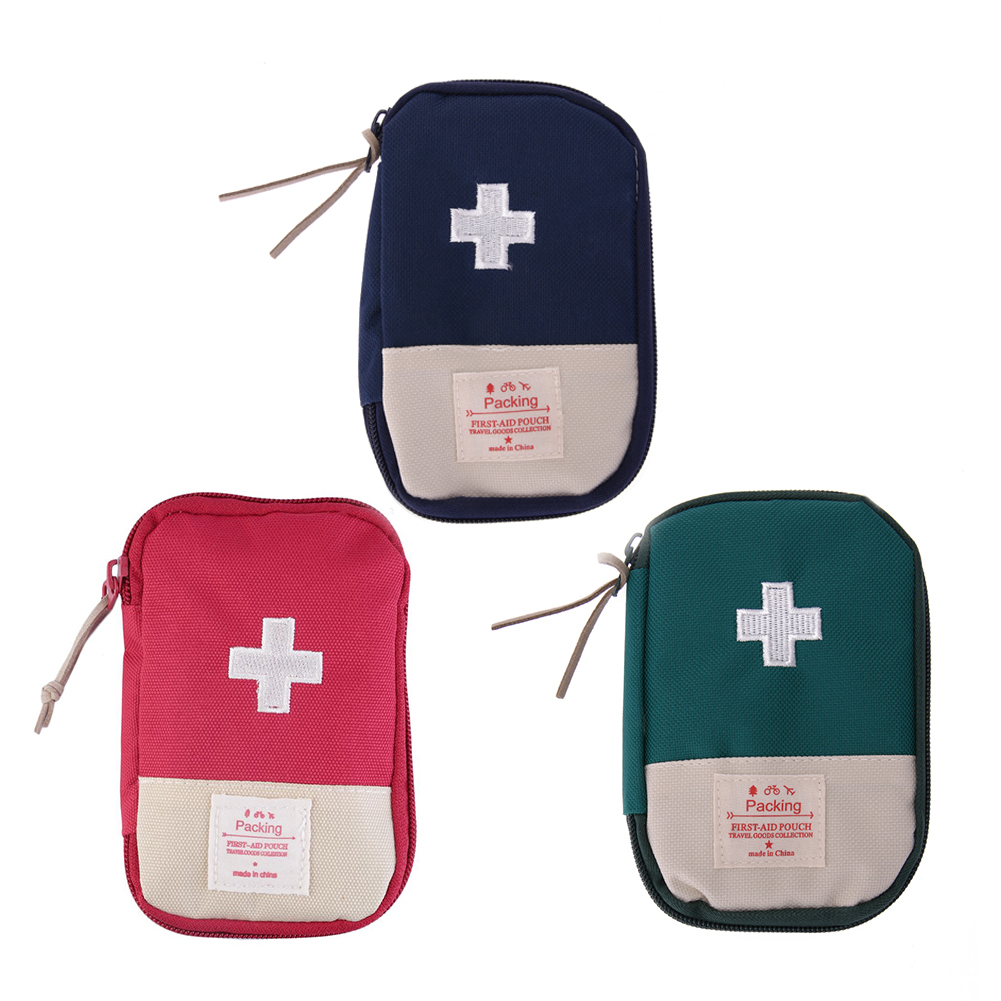 Portable Outdoor First Aid Kit Bag Camping Home Emergency First Aid Kit Bag Case Travel Medicine Package Emergency Kit Bags