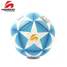 HENBOO Size 5 Football Ball Official Goal League Training Soccer PVC Butyl Internal Bladder Outdoor Sports
