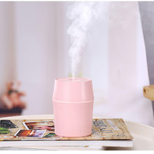 300ml Aromatherapy Diffuser Air Humidifiers Electric Diffuser Essential Oil Huile Essentiel with LED Night Lamp for Home(China)