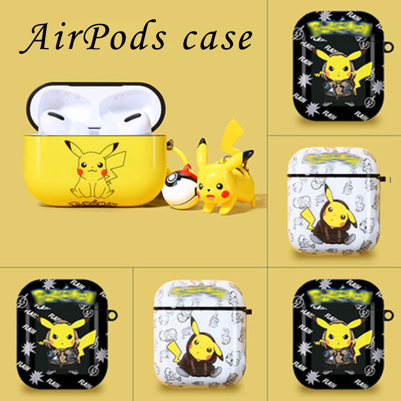 Silicone Protective Film for AirPods Shockproof and Accessories Color : Yellow Airpods Waterproof Case XIMINGJIA Airpods Case
