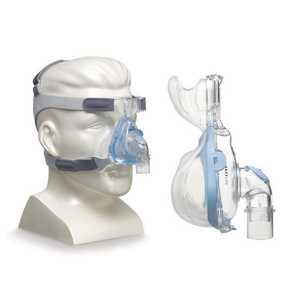 Original Easylife Nasal Mask Adjustable Straps Headgear Breathing Apparatus Sleep Apnea Nasal Anti Snoring Automatic Adsorption