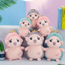 New creative hedgehog plush toy cute doll