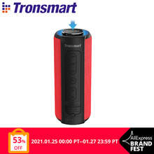 Tronsmart T6 Plus سمّاعات بلوتوث صوت مساعد عمود 40 واط Soundbar قابل للنقل مكبر صوت مع عميق باس, IPX6, باور بانك