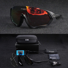 цена на Fashion 3 UV400 Lens TR90 Frame Polarized Cycling Glasses, outdoor Sport Eyewear, Cycling Sunglasses ,Bicycle,Fishing Glasses