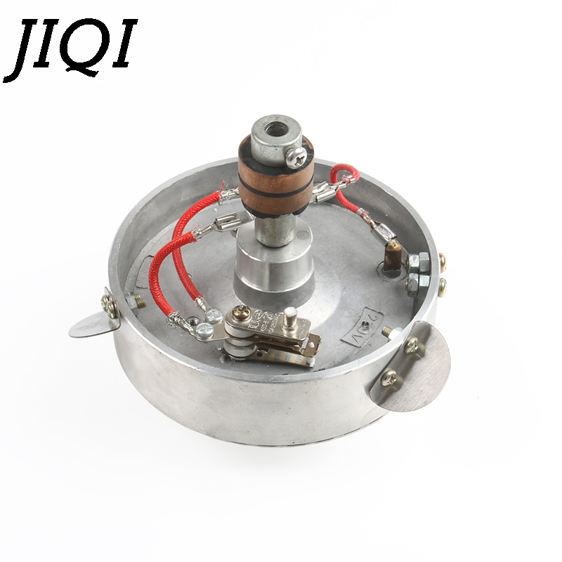 JIQI Sugar Head Candy Floss Machine Double Boiler Electric Heating Outlet Rotate Device Part Cotton Candy Maker Accessories 220V