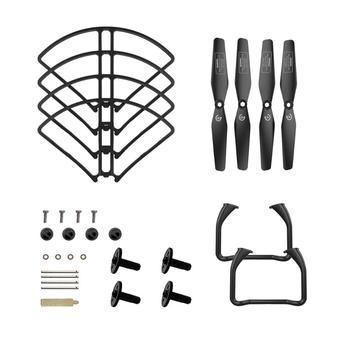 Holy Stone HS120D Drone Spare Parts Kits Propellers Landing Gear Propeller Guards Set Parts For HS120D RC Drone Quadcopter