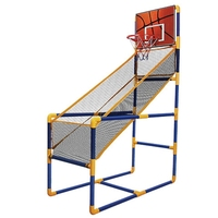 Adjustable Basketball Set Backboard Stand Net Toy Inflatable Basketball Outdoor Indoor Sports Baloncesto Children Kids Toys E5