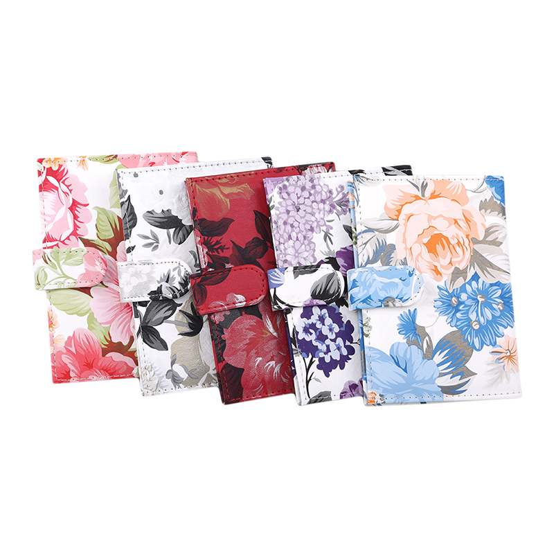 Printing Cover Travel Passport Cover Card Case Women Men Travel Credit Card Holder Travel ID Document Passport Holder Case Pouch