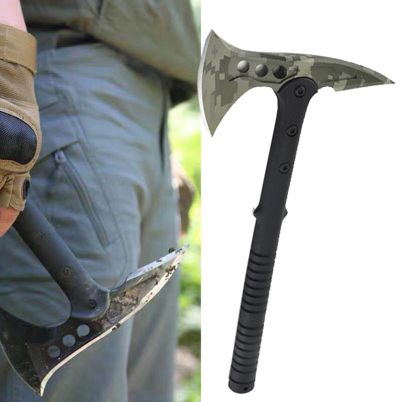 Tactical Axe Tomahawk Army Outdoor Hunting Camping Survival Machete Axes Hand Tools Fire Axe Hatchet Axe/Ice Axe Throwing Axe