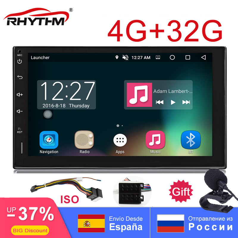 2din Android 8 0 Octa Core Car Radio Stereo 4G 32G 7 quot Capacitive TouchScreen HD GPS Navigation Bluetooth USB SD Player Universal in Car Radios from Automobiles amp Motorcycles