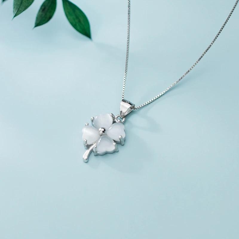 Silver Plant Pendant