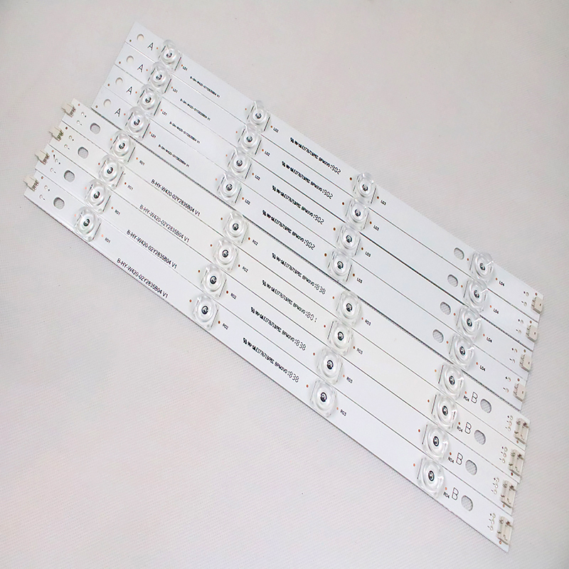 100% NEW 8 PCS(4*A,4*B) LED Strips For LG INNOTEK DRT 3.0 42
