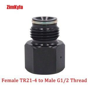 Image 5 - Co2 bote de depósito regulador Adaptador convertidor adaptador Sodastream,Paintball,CGA320,W21.8 cilindro a herramienta de aire, HomeBrew, acuario