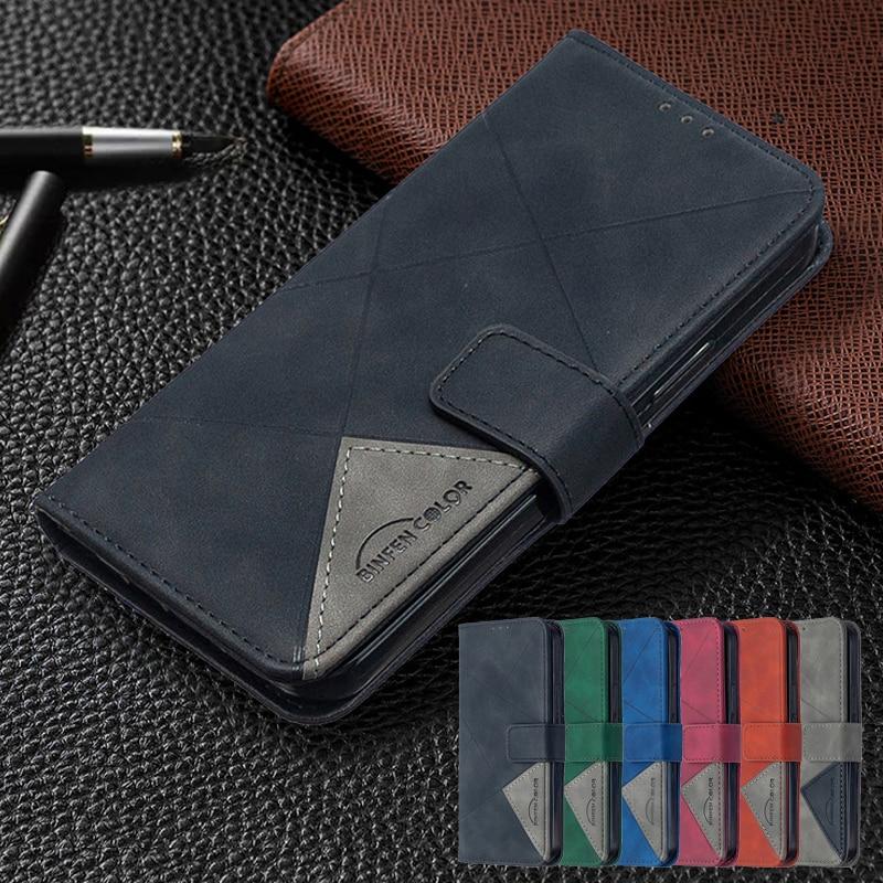 Luksusowe skórzane etui na telefony dla Oppo Reno 3 Reno3 5G Fundas na dla OPPO FindX2 znajdź X2 Lite X2Lite portfel z klapką Coque