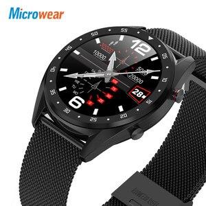Image 5 - Microwear L7 Smart Watch Support Phone Call Dialer ECG Heart Rate Measure Smartwatch Waterproof Ip68 Watch Men Women Android IOS