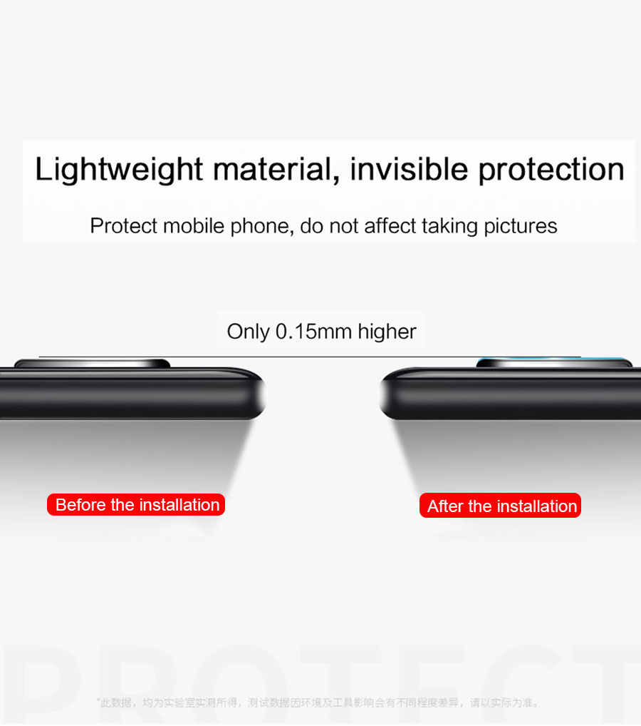 2pcs/lot Back Camera Lens Screen Protector Tempered Glass for OnePlus 5 5T 6 6T 7 Pro One Plus 7Pro Camera Protective Glass Film
