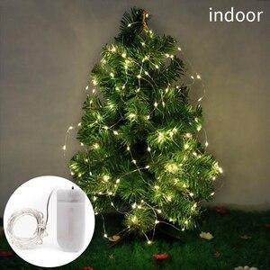 2/5/10 м USB гирлянды светодиодные фонари лампочки вне помещений Водонепроницаемый Гирлянды Гирлянда Светодиодные гирлянды украшения для новогоднее; Рождественское дерево света|Светодиодная лента|   | АлиЭкспресс