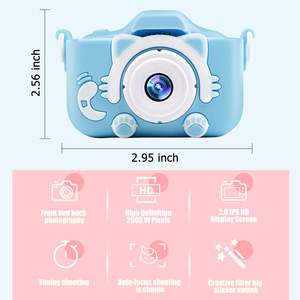 Image 5 - Children Kids Camera Digital Instant Video Cameras New Year Christmas Gifts Mini Educational Toys For Girls Boys Children Baby