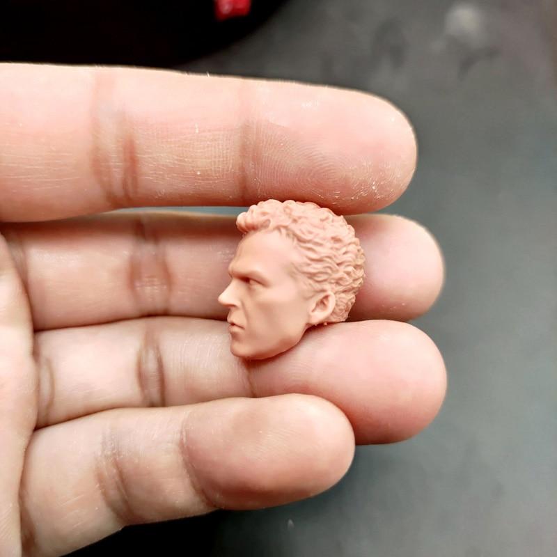 "Blank 1//12 Scale A Half Face The Venom  Head Sculpt Unpainted Fit 6/"" ML Figure"