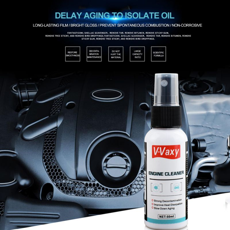ONEWELL 50ml Engine Maintenance Agent Engine Compartment Cleaner Remover Car Maintenance Products